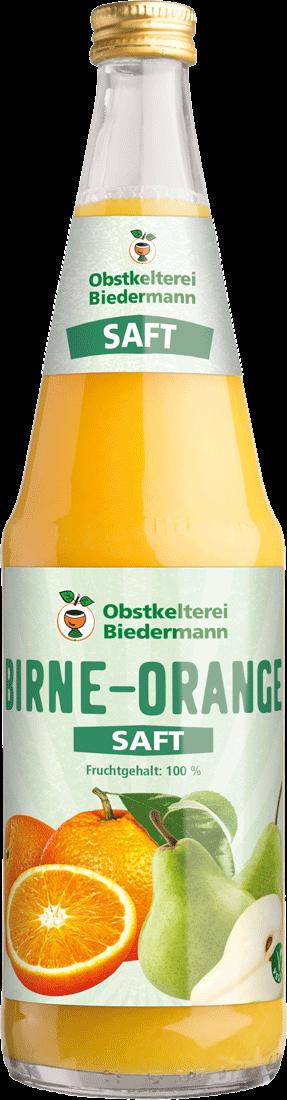 Birne-Orangensaft